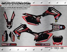 Honda CRf 250R 2014 up to 2017 Moto StyleMX graphics decals kit stickers