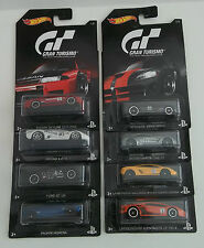 2016 Hot Wheels Gran Turismo GT Complete Set of 8 MOC