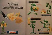 PUBLICITÉ 1995 LUSTUCRU POUR LES FÊLÉS FARCEURS TORDUS FATIGUÉS - ADVERTISING