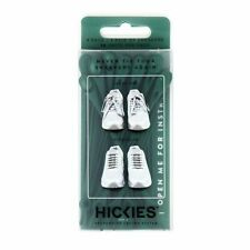 HICKIES 1.0 Original Unisex One Size Fits All Elastic No-Tie Shoelaces-Forest GR