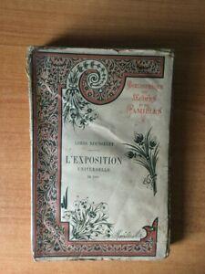 L'EXPOSITION UNIVERSELLE DE 1889 (avec couverture d'origine)