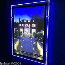 Einzel Geseitet A2 LED Lichtschrank Tasche Immobilien Fenster Display Porträt