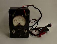 Simpson Teledata 8455 Black Line Loop Tester Two Clamping Leads