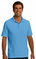 Port & Company Men's 100% Cotton Short Sleeve Golf Polo Shirt S-4XL. KP150