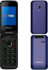 "Onda Cl100 2.4"" Clamshell Radio FM Torcia Mp3 Tim Blu"