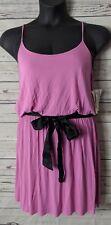 Kensie Pieces M Medium Sheath Dress Lightweight Purple Spaghetti Strap NWT