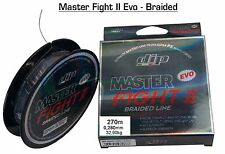 "MULTIFIBRA MASTER FIGHT II EVO BRAIDED LINE 270m 0,280mm 32,90kg ""DIP"" PESCA -D7"
