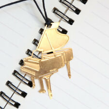 Piano Bookmark Golden Metal Musical Instrument Book Clip Reading Gift