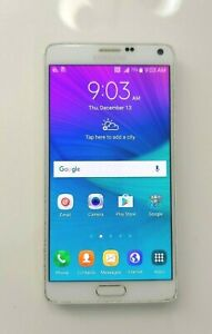Samsung Galaxy Note 4 SM-N910T 32GB White (T-Mobile) Smartphone