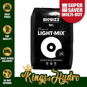 Biobizz Light Mix Potting Soil Discreet Packaging Growing Media Hydroponics