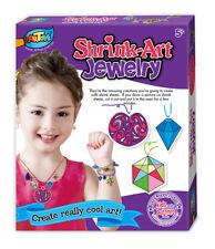 Jewellery Shrink Art Kit Plastic Shrink Sheets Magical DIY Craft Bake Your Art