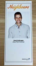 More details for scott mcgregor *mark brennan* neighbours unsigned cast fan card very rare
