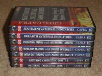 Greg Capra 7 DVD Trading System Course Pristine options online simpler academy