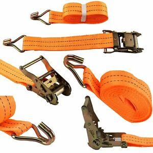 2000 kg 50mm x 10m Heavy Duty RATCHET STRAP Tie Down 2 Ton 2000 kg webbing