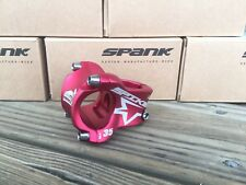 SPANK SPIKE RACE STEM 35mm 31.8 Red