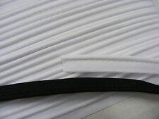Piping Black Poly Cotton  -  20 metres