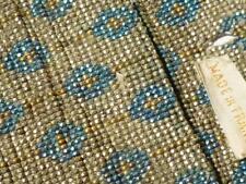 antique vintage fait à la main métal perle perlé enfant Porte-monnaie en cuir