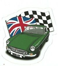 MG MGB  CAR Sticker Decal