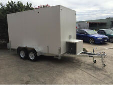 . 13 x 6 Foot - Mobile Trailer - Portable Multiple Use - Cool Room