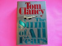 The Sum of All Fears by Tom Clancy 1991 First Edition 1st Print HC, Spy Fiction