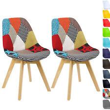 2er Set Esszimmerstühle Design Esszimmerstuhl Küchenstuhl Holz BH29mf-2
