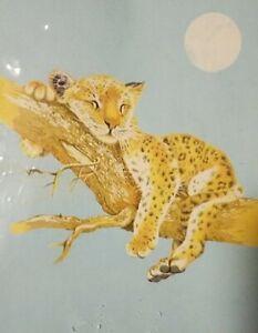 Northpoint Deluxe Fleece Throw Blanket 50x60 Cheetah Leopard Super Soft