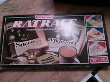 Vintage 1970s Ratrace Board Game Waddingtons Rat Race Game 99% Complete