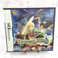 USED Nintendo DS Deltora Quest 7-tsu no Houseki 91629 JAPAN IMPORT