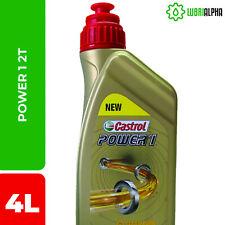 Olio motore Castrol Power 1 2t 4 Litri adatto anche per miscela