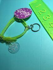 Sanrio Original Rare Keroppi Kerropi Vintage 1997 Bracelet Dog Collar Clear Neon