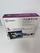 "New, Westinghouse 7"" Digital Photo Frame"