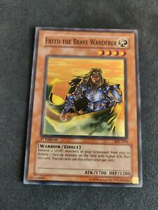 Yu-Gi-Oh - Freed the Brave Wanderer - IOC-014 - 1st Edition - Near Mint