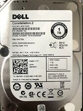 Dell Enterprise 09W5WV 7.2K RPM ST91000640SS 2.5″ 1TB SAS HDD Hard Drive