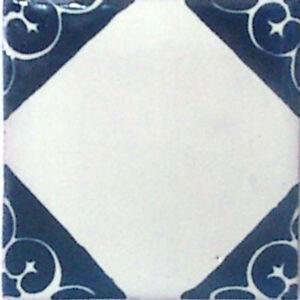 C#078) MEXICAN TILES CERAMIC HAND MADE SPANISH INFLUENCE TALAVERA MOSAIC ART