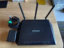 NETGEAR R6400 AC1750 SMART WIFI ROUTER 2.4GHz 5GHz 4 x GIGABIT 2x USB PORTS