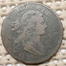 1798 Draped Bust 1¢ Copper Large Cent