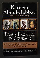 KAREEM ABDUL-JABBAR AUTOGRAPHED 'BLACK PROFILES IN COURAGE'