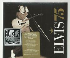 ELVIS PRESLEY CD Digipak ELVIS 75 BIRTHDAY + 2 Hype Stickers - 25 Songs SEALED