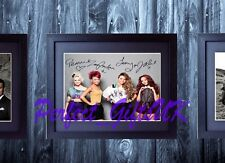 LITTLE MIX SIGNED FRAMED & MOUNTED 10x8 REPRO PHOTO PRINT