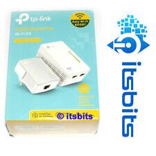 TP-LINK TL-WPA4220KIT 300Mbps AV600 WiFi POWERLINE RANGE EXTENDER STARTER KIT