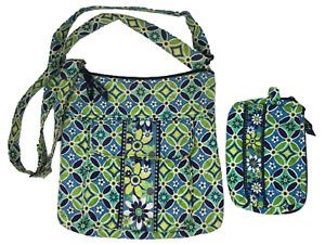 VERA BRADLEY Hipster Crossbody Bag with Flap & Cosmetic Bag DAISY DAISY Retired!