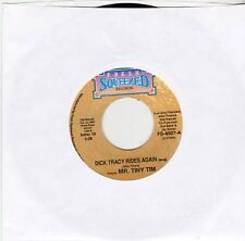 "Tiny Tim-Dick Tracy Rides Again - 7"" Single-1990 Fresh Squeezed USA‎– FS-4507"