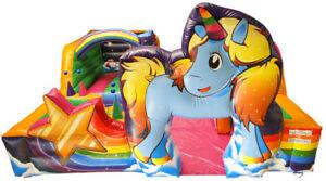 Playpark Unicorn Tots Bouncy Castle