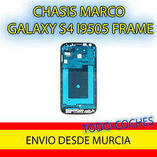 MARCO FRONTAL GRIS PLATA PARA SAMSUNG GALAXY S4 I9505 FRAME
