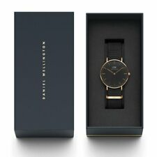 Daniel Wellington Unisex Classic Black Cornwell Watch - DW00100150