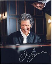 CHICK COREA HAND SIGNED 8x10 PHOTO+COA       BEST POSE EVER      AWESOME