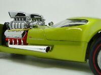 1960s Concept Custom Hot Rod Race Car Rare Wheels Sport 1 24 Carousel Green 18