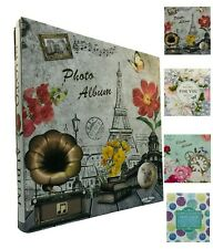 Large Self Adhesive Photo Album Hold Various Sized Picture Up to A4