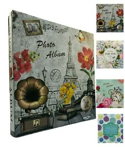 Large Self Adhesive Photo Album Hold Various Sized Pictures Ideal Gift Memory