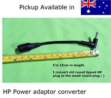 HP laptop Power Adapter Converter for Pavilion &more ultrabook converts old plug